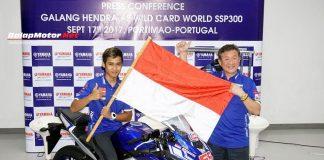 Galang Hendra Akan Tampil di World Supersport 300 Portugal
