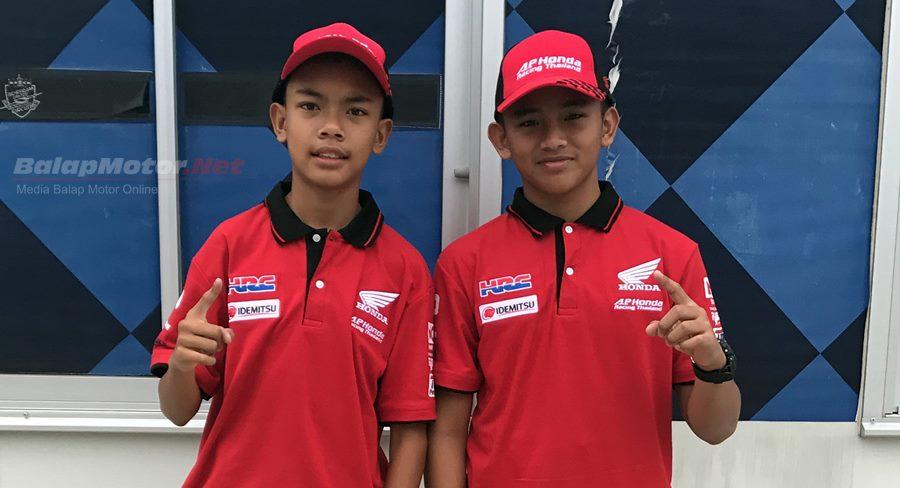 Mario SA dan M Adenanta Turun di Honda Thailand Talent Cup 2017