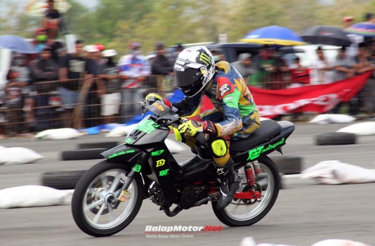 Motorprix Wonosari 2017 : Kelas Underbone Jadi Obat Kangen, Dedy Fermadi Juaranya