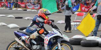 Creampie Riset Knalpot Terompet, Terbukti Juara di Motorprix Wonosari 2017