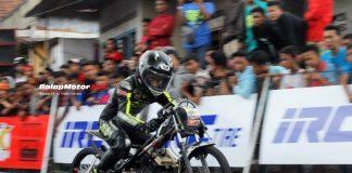Chodox Juara Bebek 200 IDC Purbalingga Dengan Ban Terbalik, Percaya?