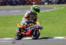 Perbaikan Racing Line Jadi Kunci Evan Satria Sapu Bersih Podium MiniGP J4 Vent Sentul Karting