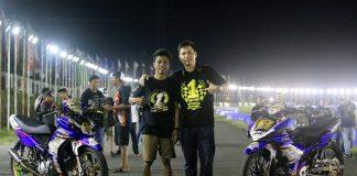 Handy Tuahatu Raih Double Juara Region MP1 dan MP2 Motorprix Sulawesi 2017