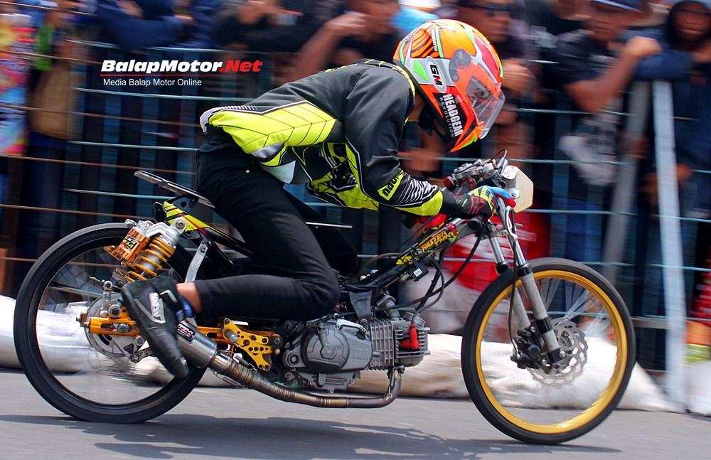 Drag Bike Cilacap 2017: Tiga Motor Faster Chiki Poetra Mahesa Borong Podium