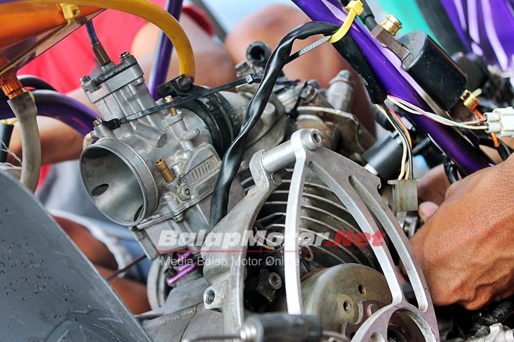 Matic 200 Hutan Kayu, Sok Ohlins 7.7 Detik Joki Batank