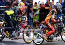 BSMC Drag Bike Purbalingga: Duel Seru Jupie TU 130 Faster Chiki vs Hutan Kayu