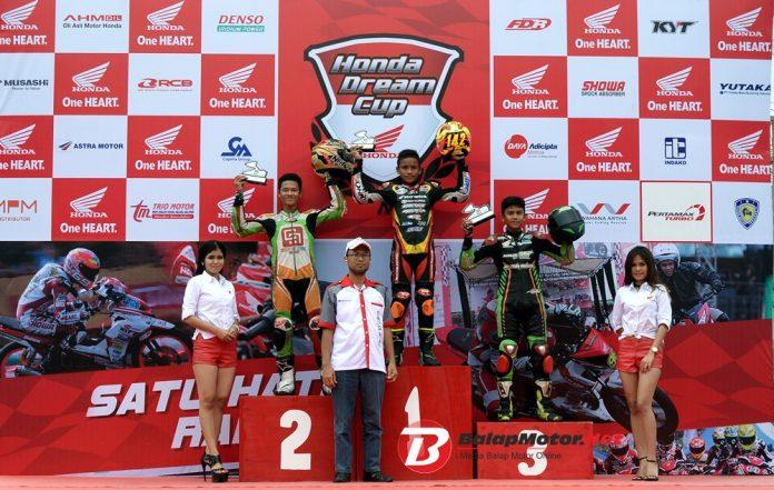 Honda Menara Agung Bethar Sukses Borong Piala di HDC Medan