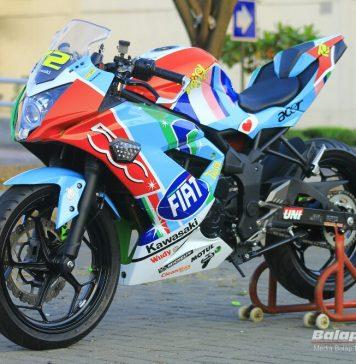Ninja Mono Special Edition FIAT 500 Rossi