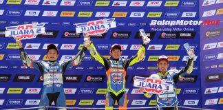 Trio Sulawesi Kuasai Podium Sport 150 Pro, Wawan Wello Juaranya