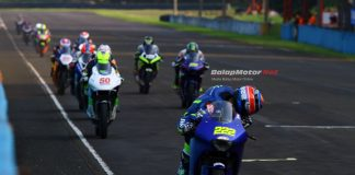 Bermain Aman, Rey Ratukore Tercepat di QTT Seri 3 Yamaha Sunday Race 2017