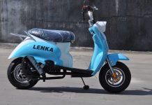 Scooter Mini LENKA SC-1 Kini Hadir Dengan Tambahan Fitur Menarik