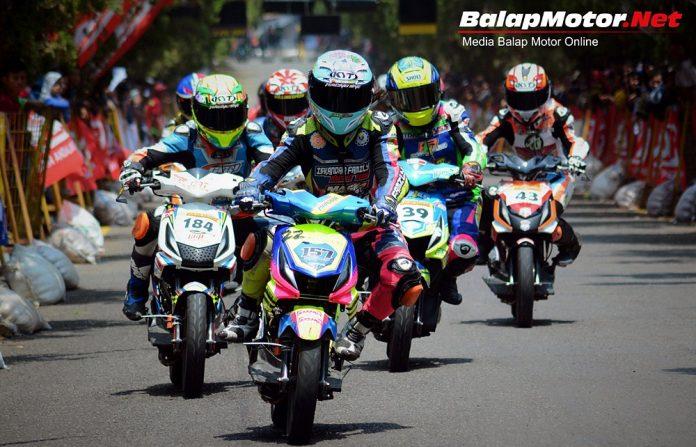 Balap Motor Dewasena di Purwakarta Berlangsung Sukses dan Meriah