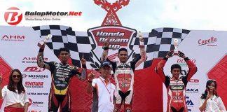 Hasil Honda Dream Cup Pekanbaru 2017