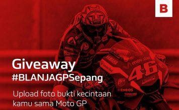 Cuma Unggah Foto Di Akun Instagram, Anda Bisa Nonton MotoGP Sepang