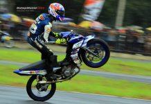 Masih Puncaki Klasemen MP2 Motorprix Kalimantan, Aryanto Tarzan Belum Tenang