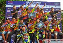 Tim Bromo Jaya Mix Kembali Raih Juara Umum Seeded Pemula Yamaha Cup Race (YCR) 2017 Kediri