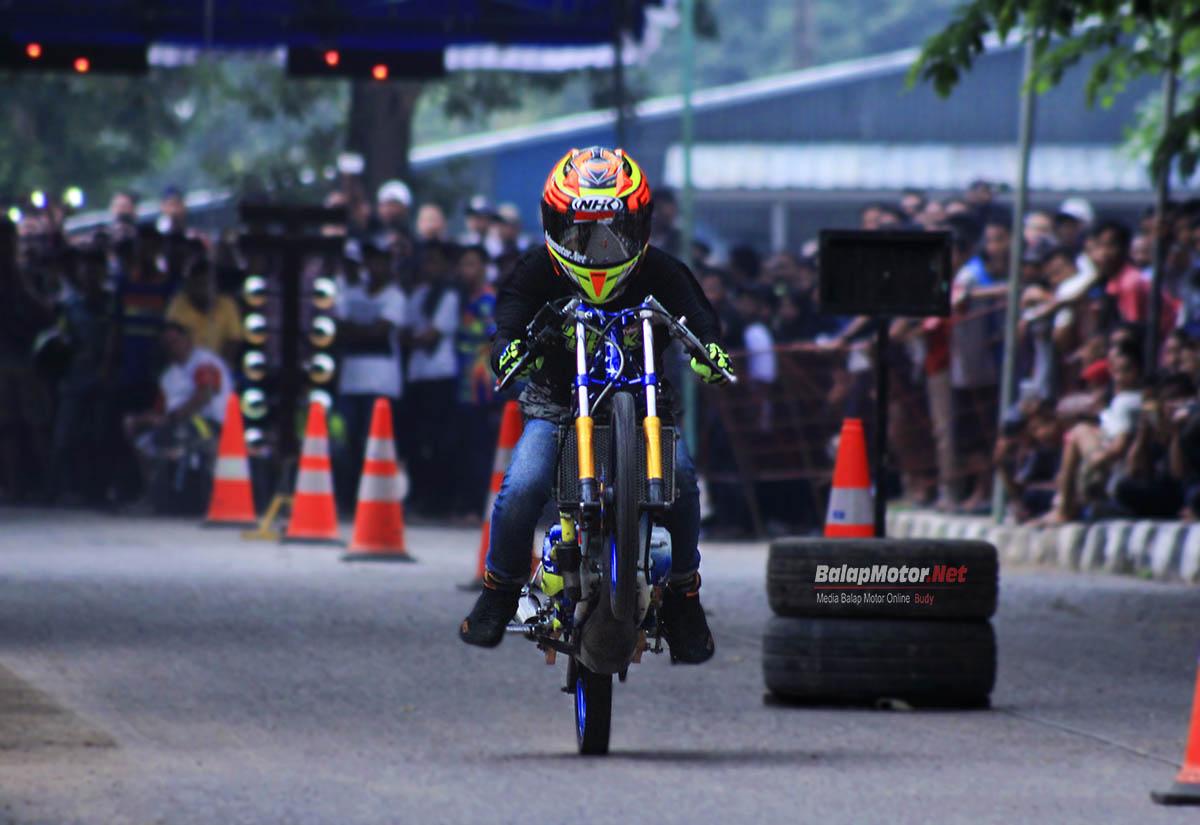 Drag Bike Palembang: Erwin Embot Sikat Kelas FFA Dengan ...