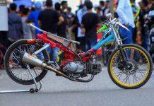 Modifikasi Yamaha Jupiter MVK Racing Yang Jawara Bebek 130cc Dengan Spek 115cc