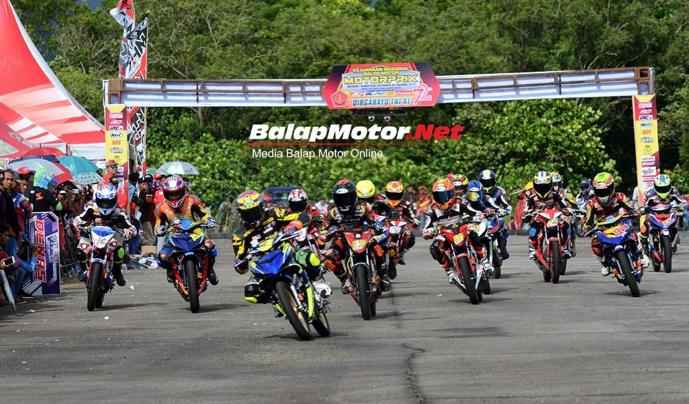 Hasil Lengkap Kejurnas Motoprix Padang 8 Oktober 2017