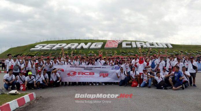 RCB Indonesia Bawa 94 Orang Nonton Langsung MotoGP Sepang Malaysia 2017