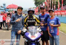 Ini Penyebab Reynladi Pradana, Pemecah Rekor Sentul dan Jawara Race 1 Sport 150 Gagal Finish di Race 2