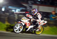 Reza Hanum Tampil Luar Biasa di Night Road Race Montesz Subang 2017