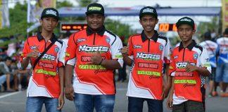 Kejurnas Drag Bike Manokwari Papua Barat : Setelah 7 Tahun Tanpa Event Drag, Wildan Kecil Juara Umum