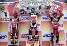 Motoprix Padang 2017: MP1 Berlangsung Seru, Ahmad Zulkifli Pecah Telur