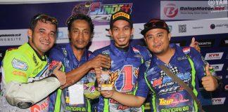 Anak Batam Ini Rebut Gelar Juara Umum Sport 250 Comm B Yamaha Sunday Race 2017