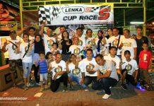 LENKA Factory Racing Sapu Bersih Juara Umum LENKA MiniGP Cup Race 2017