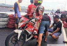Dodiyanto : Ban IRC Fasti Cocok Dengan Sirkuit Gelora Bung Tomo