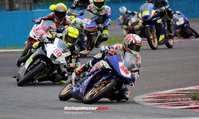 Juarai Race 2 Kejurnas 150, Wahyu Aji Pecah Telor