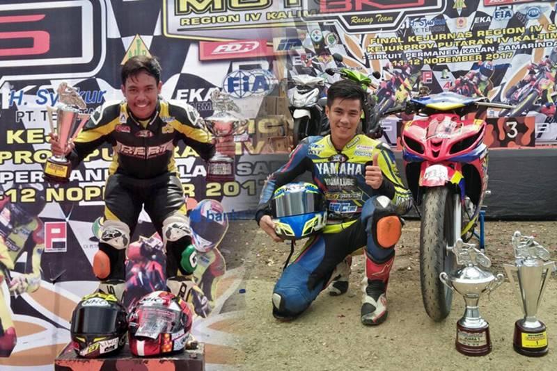 Ban IRC Sukses Hantar Juara Region MP1 dan MP2 Motorprix Kalimantan