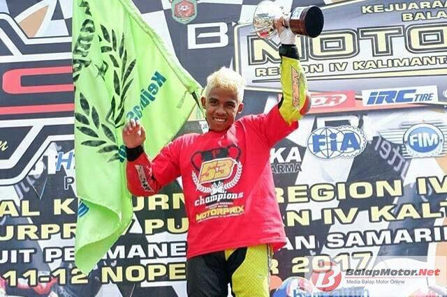 Rizal Feriyadi, Penguasa MP3 Motorprix Kalimantan 2017