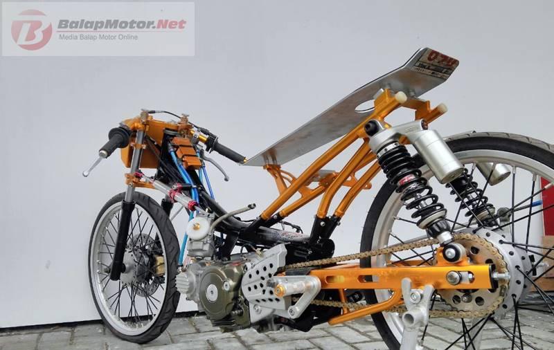 Bikin Enteng Jupiter Drag Tak Perlu Pusing, B-Pro Racing Solusinya