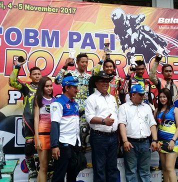 Road Race Pati 2017: Woow, Fisichella KW Asapi Rider Cowok
