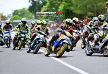 222 Starter Serbu BSMC Dandim Cup Road Race Kebumen 2017