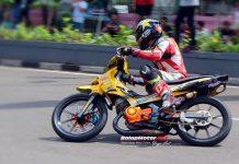 Road Race Purbalingga 2018: Suzuki Satria 2 Tak Botuna Racing Pekalongan Siap Tampil Perdana