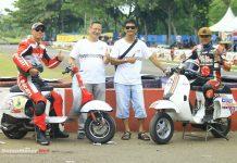 Canivespa Resing Team, Komunitas Vespa yang Kepincut Balap