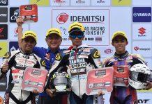 Bocah Ngapak Wahyu Aji Juarai Race 1 Final ARRC 2017 Thailand