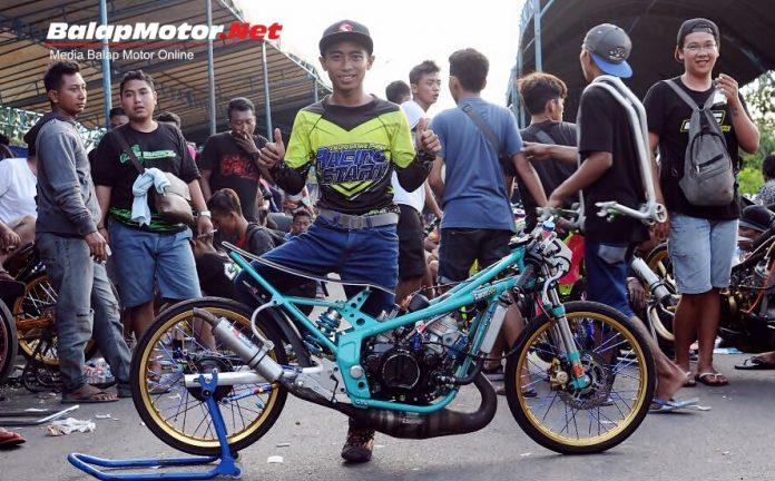 Joko Precil Feat Ninja RANNALT OP27 Resmi Pecahkan Rekor Best Time Drag Bike Indonesia