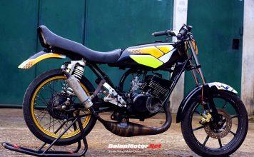 Yamaha RX-King 69 Racing Mantos Nusakambangan, Serba Standar Siap Melawan