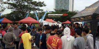 Pendaftar Satlantas Tangsel Drag Bike Competition Di Aplikasi REKOR Meledak