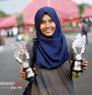 Fisichella Wanita Terbaik di Purbalingga, Tampil di Tiga Kelas Raih Tiga Podium