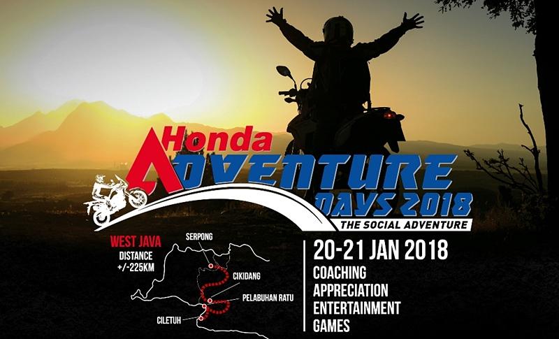 Honda Adventure Days 2018: Tha Social Adventure Dari Jakarta Ke Ciletuh Sukabumi