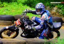 Geber RX-King B-Pazz, Irvan Riyadhoh Juara Sport 140 BSMC Road Race Purworejo