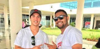 Pengusaha Muda Asal Tanjung Pinang Ini Support Joel Evans di Australian Motocross & Supercross