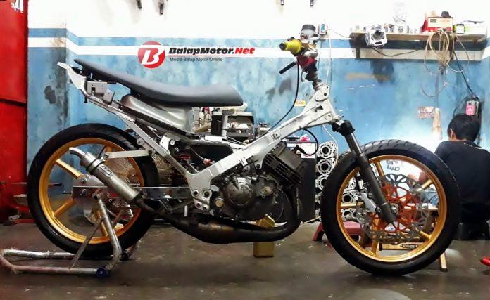 Bangun Bebek 2 Tak Underbone, Potter OTD Pekajaman Siap Pindah Road Race?