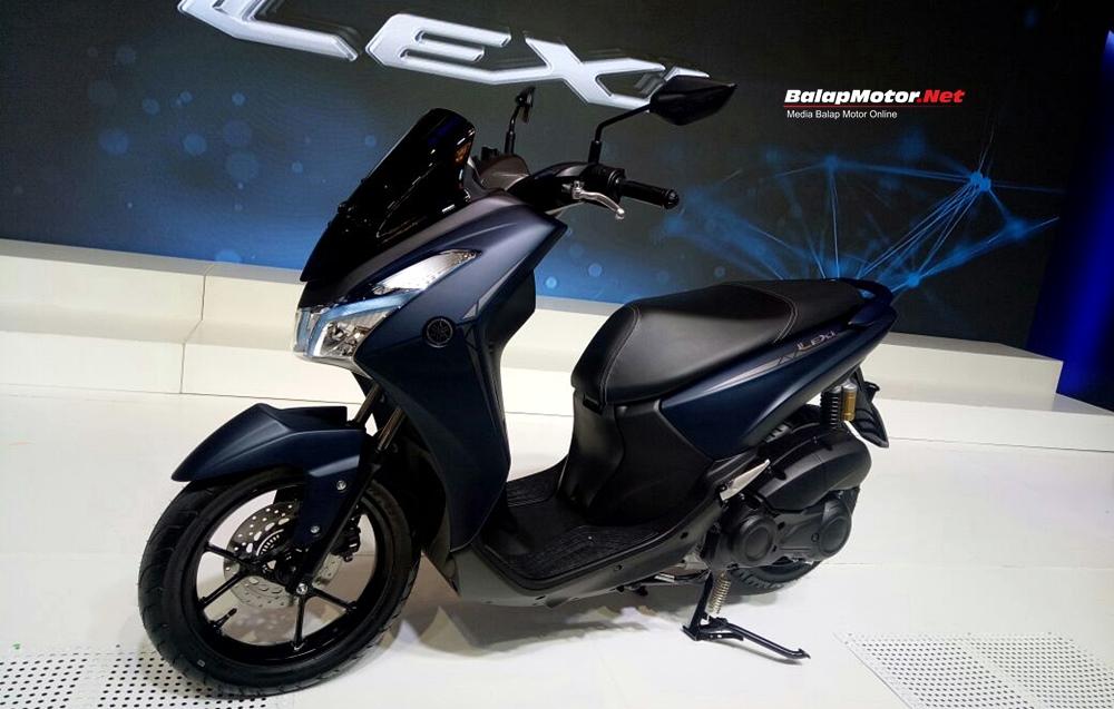 Yamaha Lexi di Lounching Vinales dan Rossi, Nih Fitur Keunggulannya
