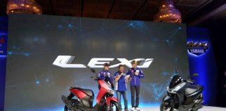 Yamaha Lexi di Launching Vinales dan Rossi, Nih Fitur Keunggulannya